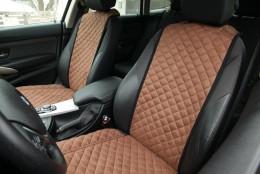 Elegans Накидка для сидений Toronto коричневый (передняя пара)