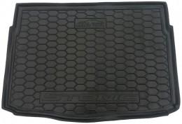 Коврик в багажник KIA Stonic (2017>) (нижняя полка) AvtoGumm