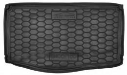 Коврик в багажник KIA Picanto (2018>) (нижняя полка) AvtoGumm