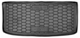 Коврик в багажник KIA Picanto (2018>) (верхняя полка) AvtoGumm
