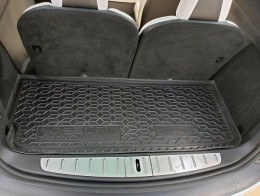 Коврик в багажник TESLA Model X задний ( 7 мест малый ) AvtoGumm