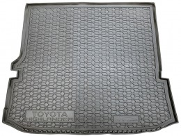Коврик в багажник TOYOTA Highlander (2020>) (5/7 мест) AvtoGumm