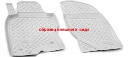 Коврики салонные для Nissan Qashqai (J11) (2014) (пер) Серый