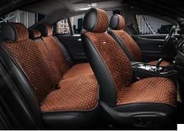 Elegans Накидка для сидений Style коричневый