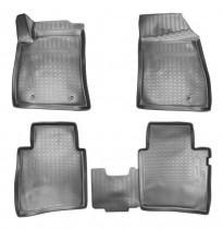 Коврики салонные для Nissan Sentra (B17) 3D (2014) Nissan Tiida (C12) 3D (2011)