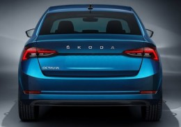 Шильдик надпись Skoda new 2021-