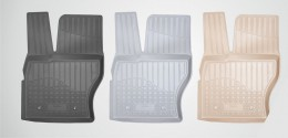 Коврики салонные для Toyota Corolla (E16) (2013) Серый Unidec