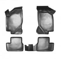 Коврики салонные для VAZ 111 Kalina 3D (2004) VAZ 2190 Granta 3D (2011) Unidec