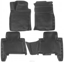 Коврики в салон Tоyоtа Land Cruiser Prado 150 (09-) 3D L.Locker