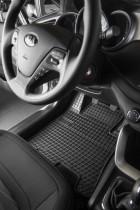 Резиновые коврики в салон Renault Kangoo II 2os 2008-