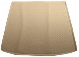 Коврики в багажник Audi Q7 (4LB) (2005) Бежевый Unidec