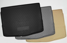 Коврики в багажник BMW 7 (F02) (Long) (SD) (2009) Серый Unidec