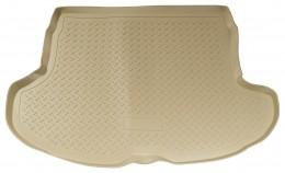 Коврики в багажник Infiniti FX (S50) (2003-2008) Бежевый Unidec
