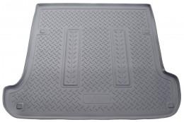Коврики в багажник Lexus GX 470 (J12) (2002-2009) Toyota LC-120 Prado (J120) (2002-2010) Серый Unidec