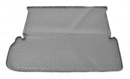 Коврики в багажник Toyota LC-150 Prado (J150) (2010) (7 мест) Серый Unidec