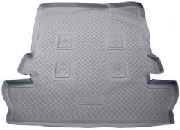 Коврики в багажник Toyota LC-200 (J20A) (2007) (7 мест) Серый Unidec