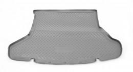 Коврики в багажник Toyota Prius (ZVW30) (2009) Серый Unidec