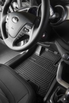 Резиновые коврики в салон Renault Trafic III 3 row- 9 person 2014-
