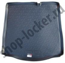 Коврики в багажник Citroen C-Elysee sd (12-) L.Locker