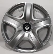 340 Колпаки для колес на Renault R15 (Комплект 4 шт.) SKS