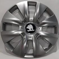 225 Колпаки для колес на Skoda R14 (Комплект 4 шт.) SKS
