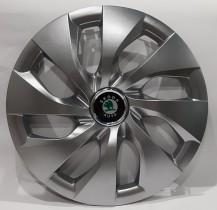 416 Колпаки для колес на Skoda R16 (Комплект 4 шт.) SKS