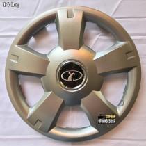201 Колпаки для колес на Ваз R14 (Комплект 4 шт.) SKS
