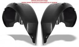 ООО Пластик Арочные подкрылки для Fiat Doblo пара зад.