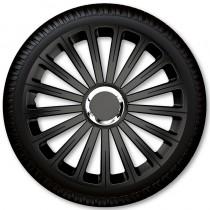 4 Racing Колпаки для колес Radical Pro Black R13 (Комплект 4 шт.)
