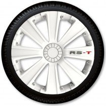 4 Racing Колпаки для колес RS-T White R13 (Комплект 4 шт.)
