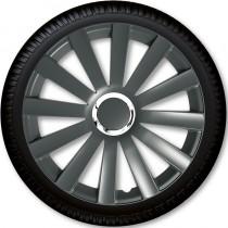 4 Racing Колпаки для колес Spyder Pro Grey R13 (Комплект 4 шт.)