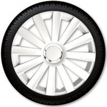 4 Racing Колпаки для колес Spyder Pro White R13 (Комплект 4 шт.)