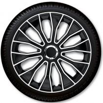 Колпаки для колес Voltec Pro Black White R13 (Комплект 4 шт.) 4 Racing