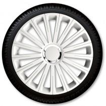 4 Racing Колпаки для колес Radical Pro White R16 (Комплект 4 шт.)
