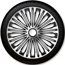 Колпаки для колес Volante Silver Black R15 (Комплект 4 шт.) 4 Racing