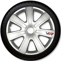 4 Racing Колпаки для колес VR Carbon R14 (Комплект 4 шт.)