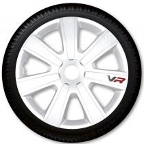 4 Racing Колпаки для колес VR Carbon White R14 (Комплект 4 шт.)
