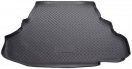 Коврики в багажник Mitsubishi Galant sd (06-) (пластик) Unidec