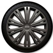 ARGO Колпаки для колес Giga Dark R16 (Комплект 4 шт.)