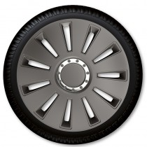 ARGO Колпаки для колес Silverstone Pro Dark R15 (Комплект 4 шт.)