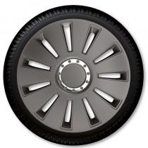 ARGO Колпаки для колес Silverstone Pro Dark R16 (Комплект 4 шт.)