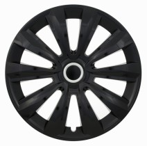 Jestic Колпаки для колес Delta black ring R13 (Комплект 4 шт.)