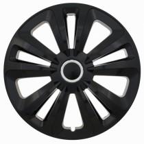 Jestic Колпаки для колес Terra black ring R13 (Комплект 4 шт.)