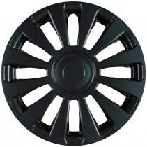 Jestic Колпаки для колес Avant black R15 (Комплект 4 шт.)