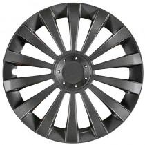 Jestic Колпаки для колес Meridian grafit R14 (Комплект 4 шт.)