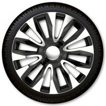 Max6 Колпаки для колес Avalon Chrome & Black R13 (Комплект 4 шт.)