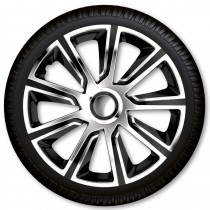 Max6 Колпаки для колес Veron Chrome & Black  R13 (Комплект 4 шт.)
