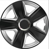 Колпаки для колес Esprit RC Black&Silver R14 (Комплект 4 шт.) Elegant