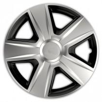 Колпаки для колес Esprit RC silver&black R13 (Комплект 4 шт.) Elegant