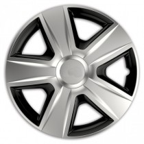 Elegant Колпаки для колес Esprit RC silver&black R15 (Комплект 4 шт.)